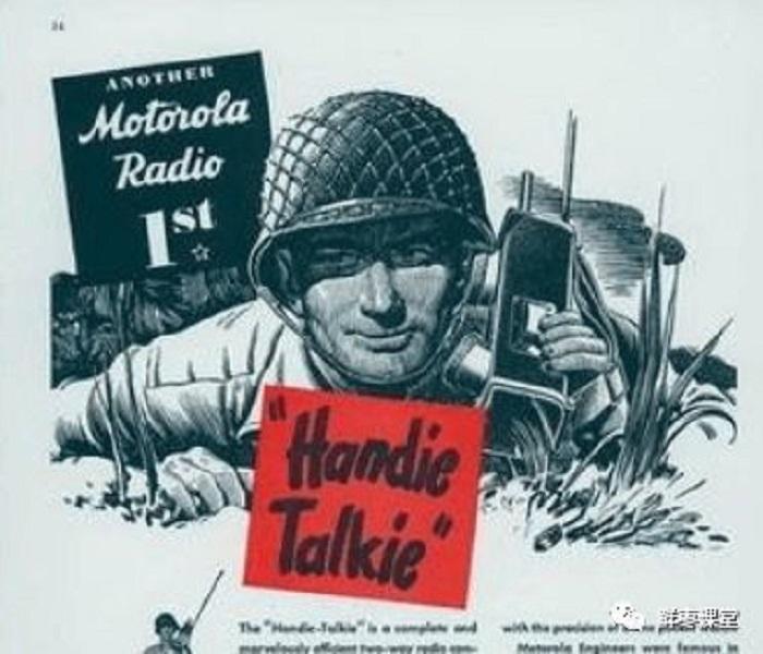 thời kỳ đầu của máy bộ đàm Motorola